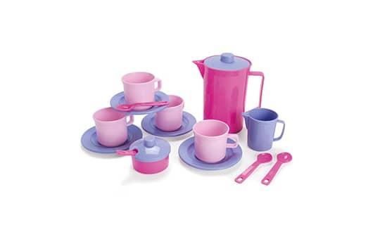 Spielzeug Teeservice - Prinzessin - 17 Teile