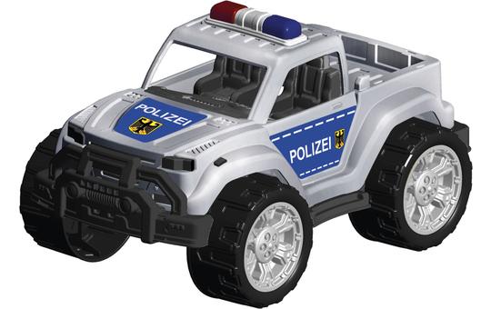 Besttoy Polizeifahrzeug - Jeep mit Stickern - ca. 28 cm