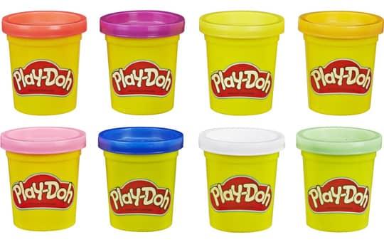 Play-Doh - 8er Pack Knete - Rainbow