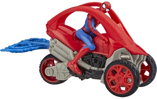 Spider-Man - Rip n' Go - Stunt Fahrzeug mit Actionfigur