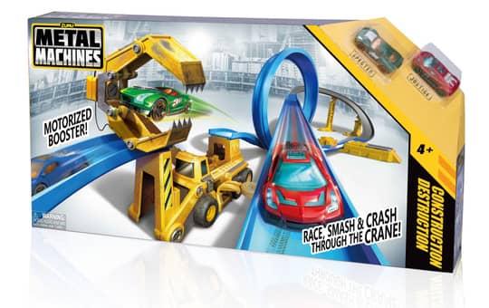 Zuru Metal Machines Rennbahn - Construction Destruction - inkl. 2 Fahrzeuge