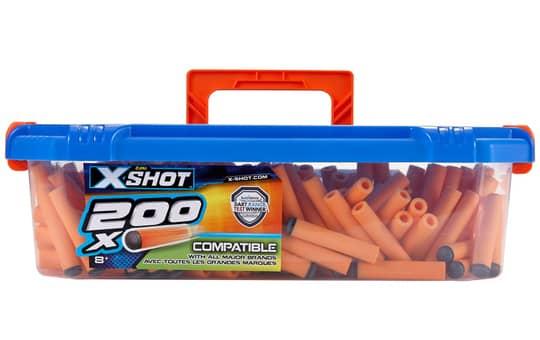 Zuru - Ersatzdarts X-Shot - 200 Stück