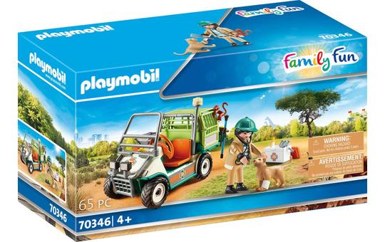 Playmobil® 70346 - Zoo-Tierarzt im Fahrzeug - Playmobil® Family Fun