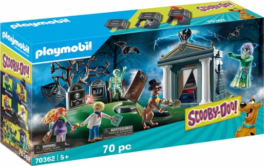 Playmobil® 70362 - SCOOBY-DOO! Abenteuer auf dem Friedhof