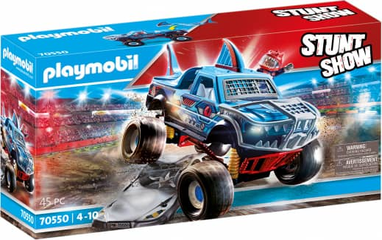 Playmobil® 70550 - Stuntshow Monster Truck Shark - Playmobil® Stunt Show