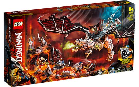 LEGO® NINJAGO® 71721 - Drache des Totenkopfmagiers