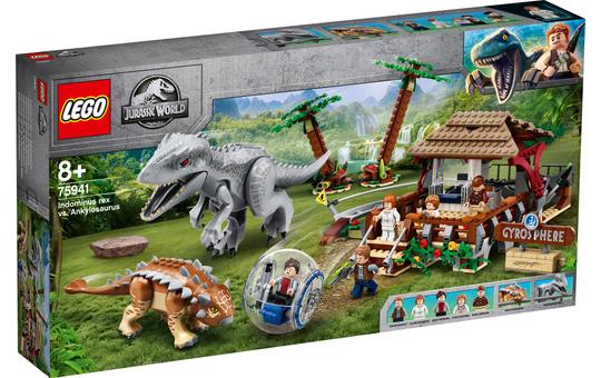 LEGO® Jurassic World™ 75941 - Indominus Rex vs. Ankylosaurus