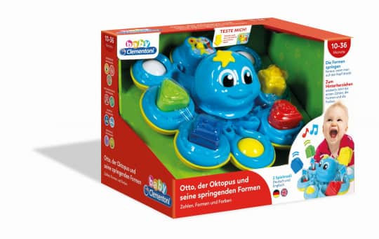 Oktopus Formensortierer - baby Clementoni
