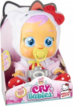 Cry Babies - Babypuppe - Hello Kitty
