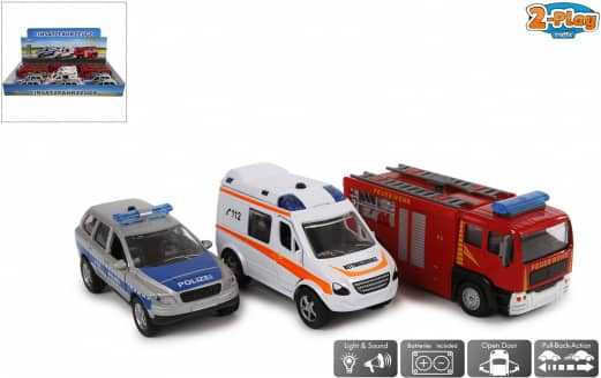 Einsatzfahrzeuge - Modellauto - 1 Stück - verschiedene Modelle