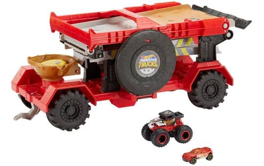 Hot Wheels - Monster Trucks - 2-in-1 Crashrennen