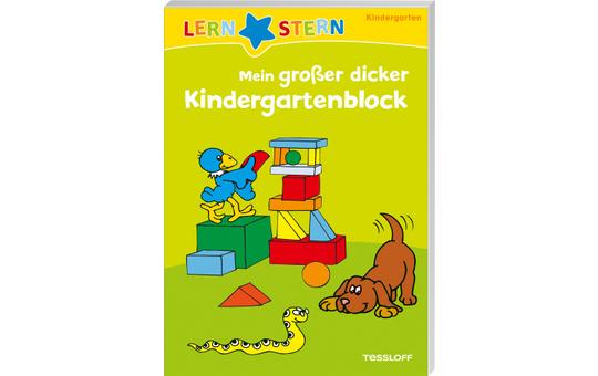 Mein großer dicker Kindergartenblock - Lernstern