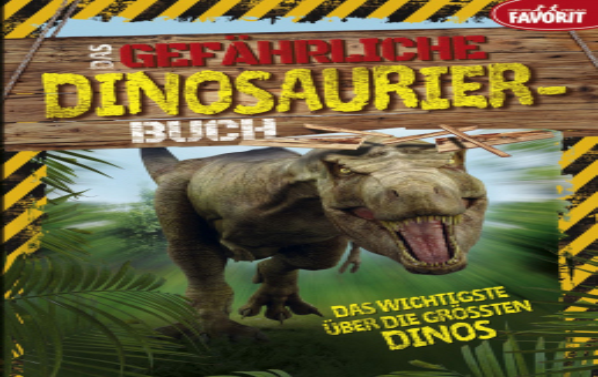 Das gefährliche Dinosaurier-buch