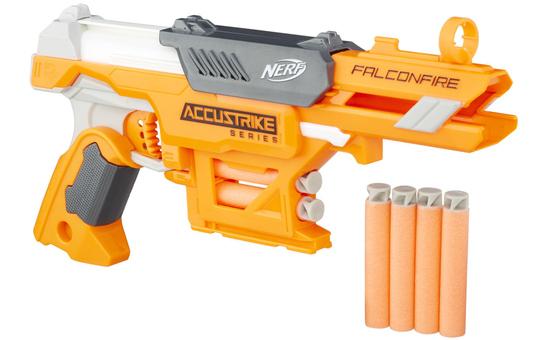 Nerf AccuStrike Falconfire - inkl. 6 AccuStrike Darts