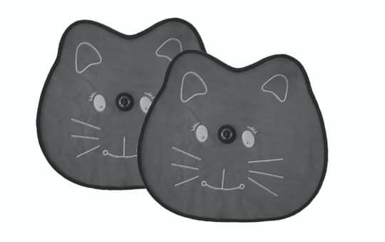 Auto-Sonnenschutz - Katze - 2 Stück