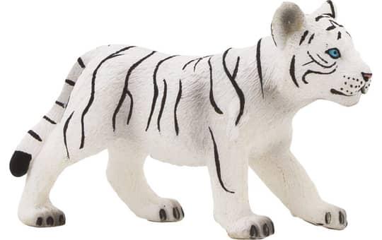 Besttoy Wildlife - Weißes Tigerjunges stehend - Spielfigur 387014