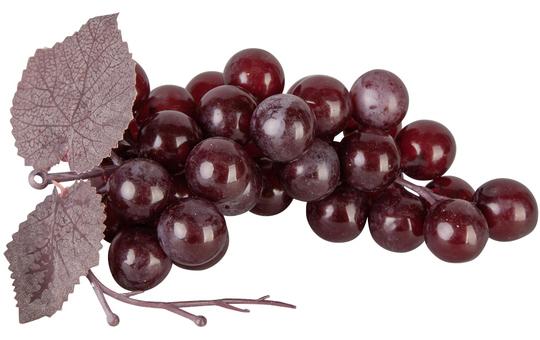 Weintraubenrebe - 14 cm - in dunkelrot