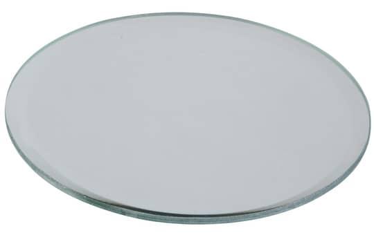 Kerzenuntersetzer - aus Glas -  Ø = 13 cm - Kreis