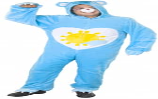 Kostüm - Plüschbär Sunny - für Erwachsene - 2-teilig - verschiedene Größen