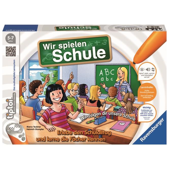 Tiptoi Spiel - Wir spielen Schule - Ravensburger