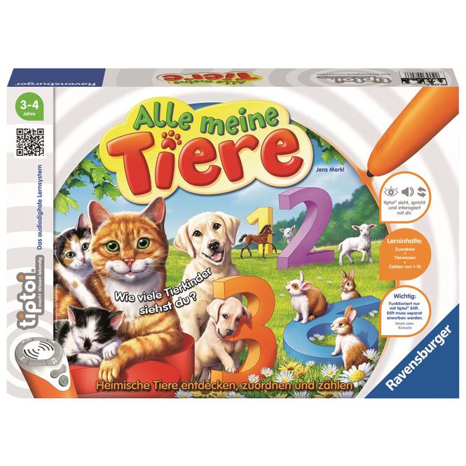 Tiptoi Spiel - Alle meine Tiere - Ravensburger