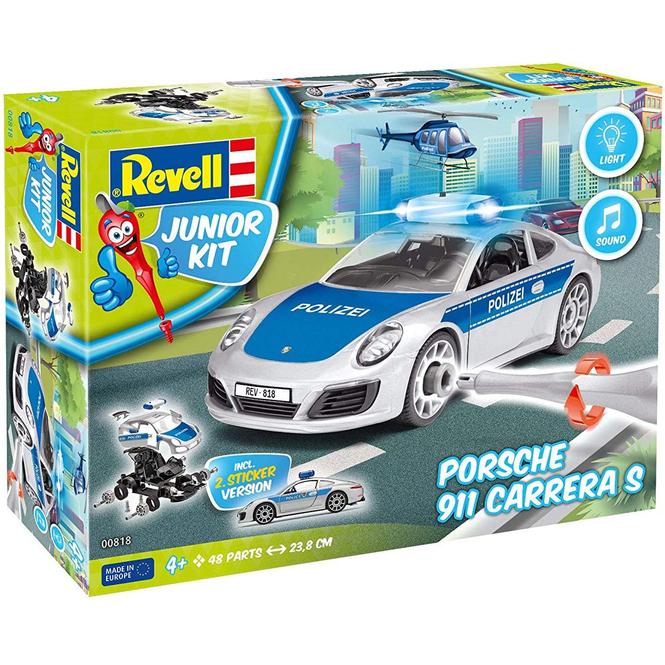 Revell Junior Kit 00818 - Porsche 911 Polizei - Bausatz