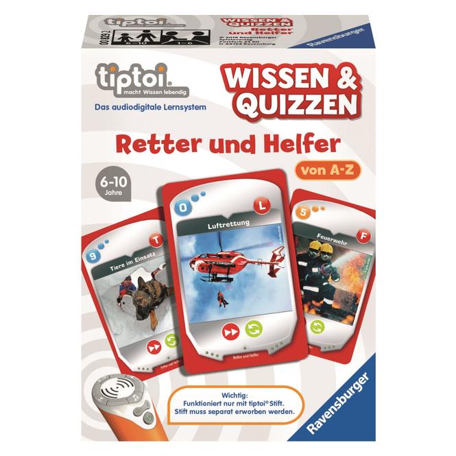 Tiptoi - Wissen & Quizzen - Retter und Helfer