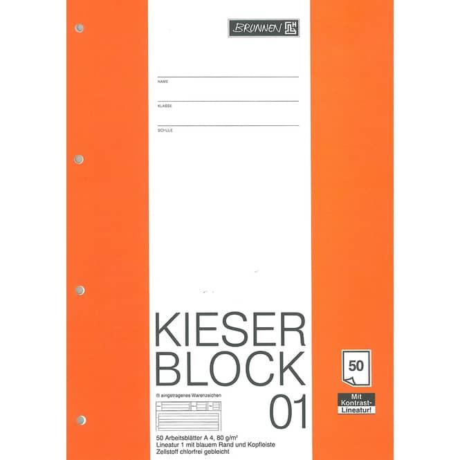 Kieserblock Nr. 01, 1. Klasse