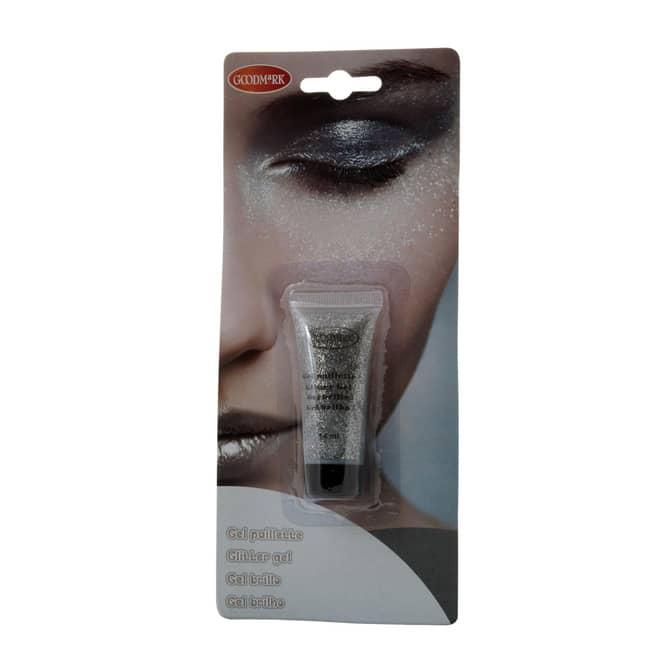Gel Make-Up - Glitter - 14 ml - silber