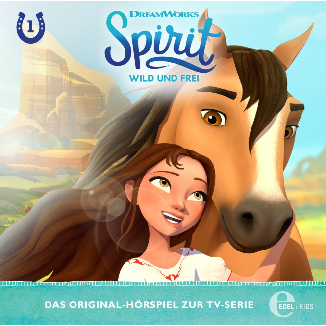 Spirit - Hörspiel CD - Folge 1 - Wild und Frei