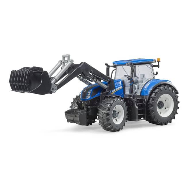 Bruder 03121 - Traktor New Holland T7.315 mit Frontlader