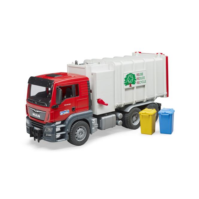 Bruder 03761 - MAN TGS Seitenlader Müll-LKW