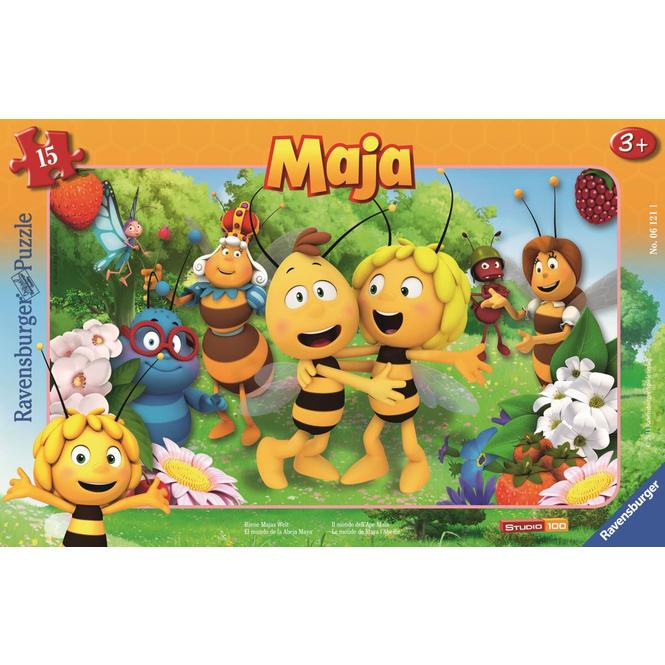 Rahmenpuzzle - Biene Majas Welt - 15 Teile