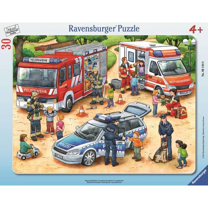 Rahmenpuzzle - Spannende Berufe - 30 Teile - Ravensburger