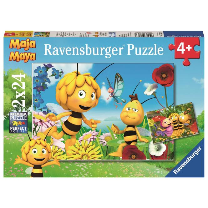 Puzzle-Box - Biene Maja und ihre Freunde - 2x 24 Teile