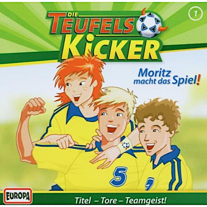 Die Teufelskicker - Hörspiel CD - Folge 1 - Moritz macht das Spiel
