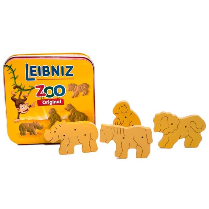 Kaufladenzubehör - Leibniz Zoo Kekse aus Holz