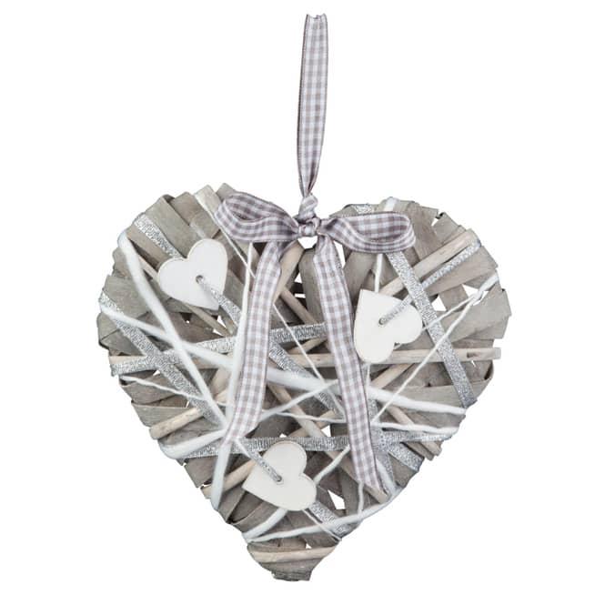 Deko-Herz aus Spaltweide - verschiedene Größen erhältlich