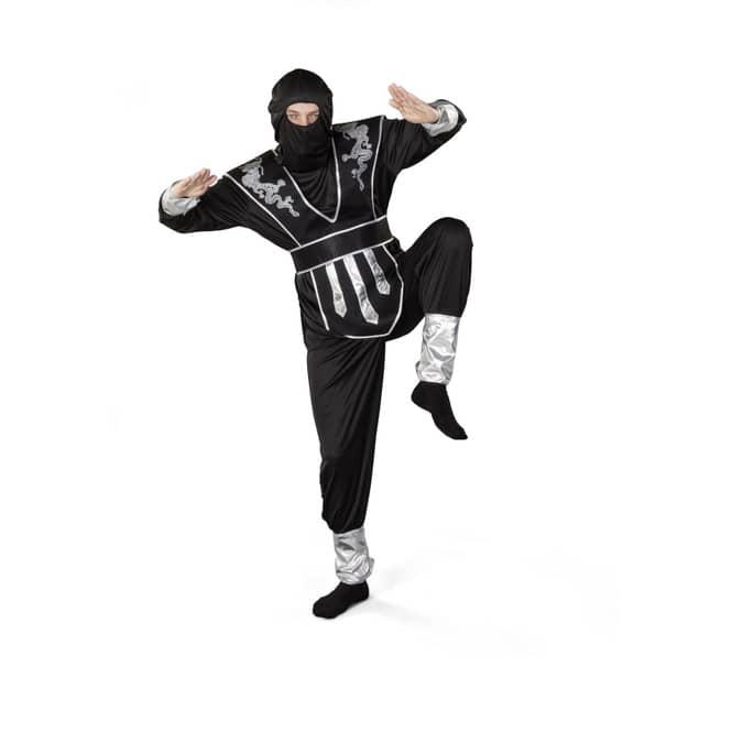 Kostüm - Ninja, für Erwachsene