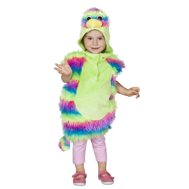 Kostüm - Paradiesvogel, für Kleinkinder