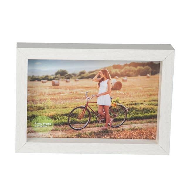 Bilderrahmen - aus Holz - ca. 17 x 12 x 3 cm