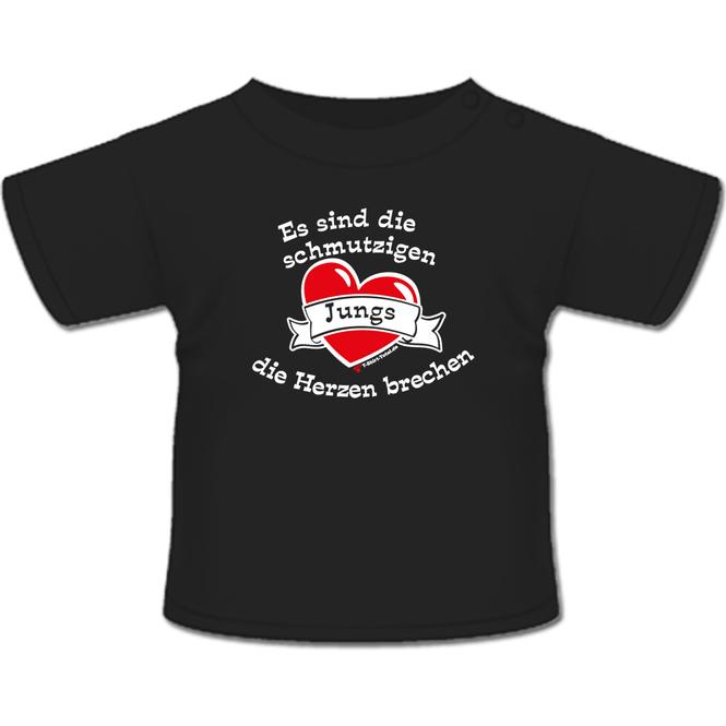 Schmutzige Jungs T-Shirt schwarz