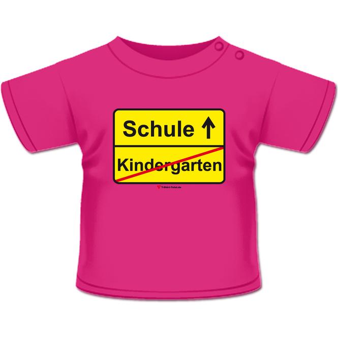 Kindergarten Schule T-Shirt pink