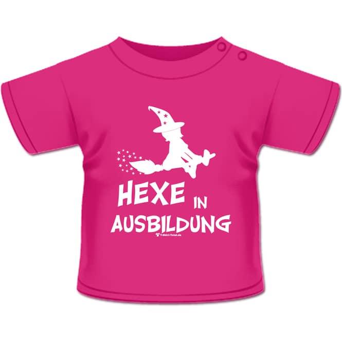 Hexe in Ausbildung T-Shirt pink