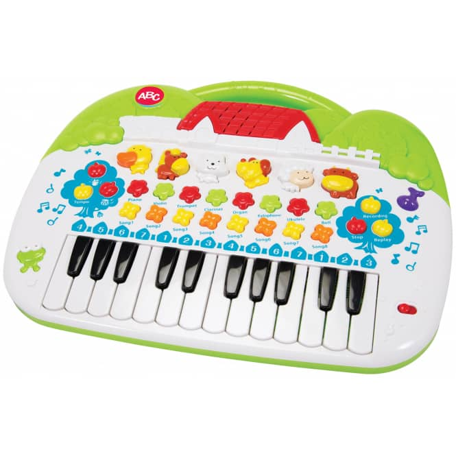 ABC Tier-Keyboard von Simba