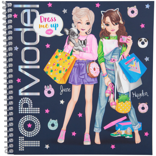 TOP Model - Stickerbuch - Dress Me Up