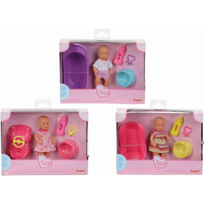 Mini New Born 12cm Puppe Simba Toys