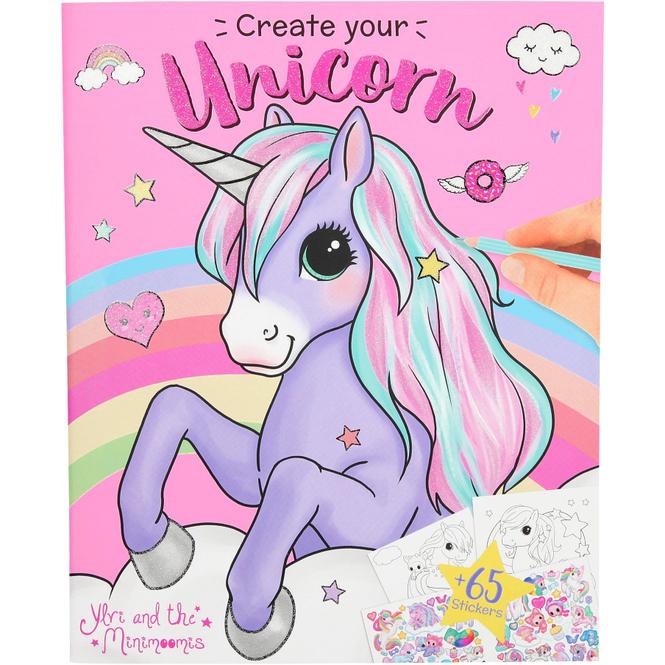 Ylvi and the Minimoomis - Create your Unicorn - Malbuch