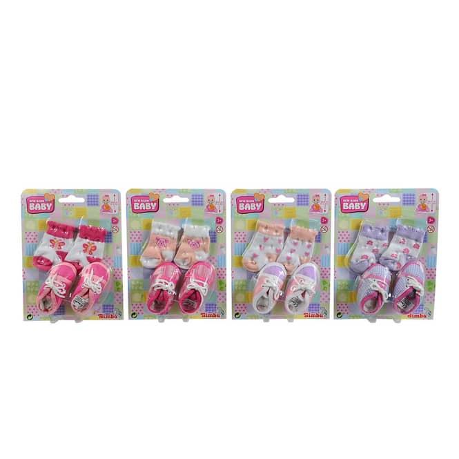 New Born Baby - Socken und Schuhe - 1 Set