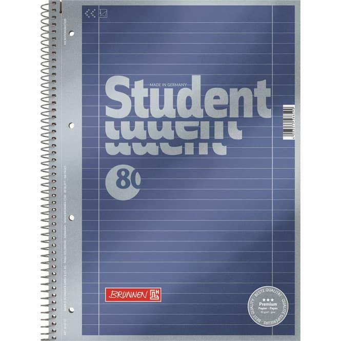 Premium Collegeblock DIN A4 - Lineatur 27
